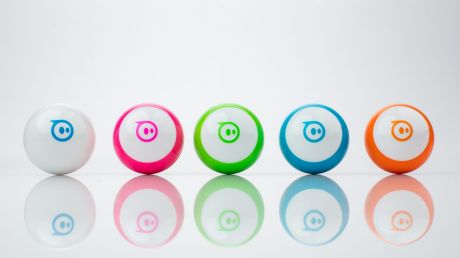 The pint-sized Sphero Mini is an affordable way to introduce kids to programming.