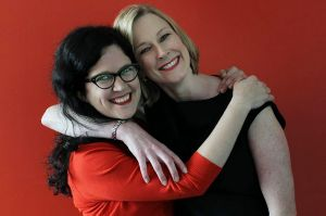 Annabel Crabb and Leigh Sales prove quite the podcast double act.