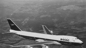The British Airways jumbo will be braned BOAC - for the airline's previous name British Overseas Airways Corporation.