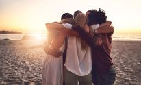"""""""Hug therapy is about focusing on the energies in the body and working with those to learn self-love."""""""