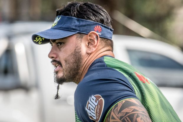 Having made his debut in 2017, Raiders prop Royce Hunt wants to finally play his second this season.