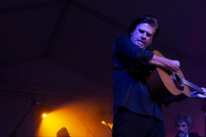 Tex Perkins at Riverboats Music Festival.