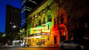 The Melbourne International Comedy Festival, held at venues such as the Comedy Theatre (pictured), has said it won't ...