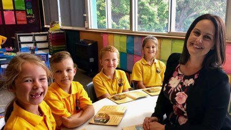 Natalie Marshall says the role of principal is 'demanding, challenging and incredibly rewarding'.