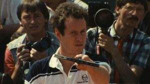 John McEnroe: In the Realm of Perfection was shot at the French Open in 1984.