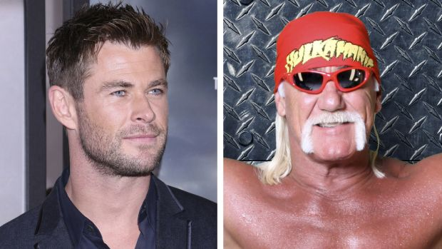 Chris Hemsworth Hulk Hogan composite.