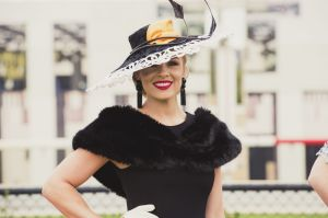 Black Opal Stakes Day at Thoroughbred Park. Fashions on the field. Photo: Jamila Toderas