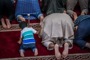 Gungahlin mosque, early afternoon prayer session the day after the mass shootings at mosques in Christchurch New ...