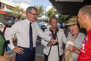 Penny Sharpe, Michael Daley, NSW Leader of the Opposition, Maryanne Stuart and Mark Buttiegig visit Engadine.