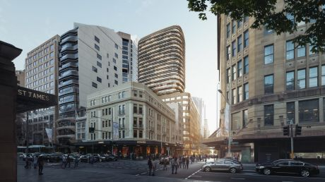 Scentre Group and Cbus Property have lodged plans for a new luxury retail store and apartment tower at 77 Market Street, ...