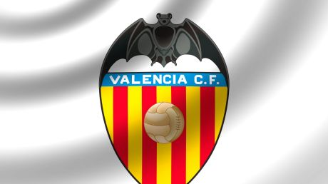 Valencia's traditional logo; a centenary celebration version has sparked the ire of comics giant DC.