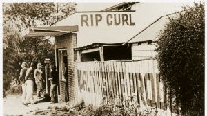 The early days of iconic surf brand Rip Curl.