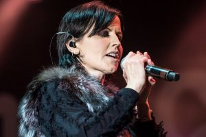 The Cranberries' Dolores O'Riordan, who died last year aged 46.