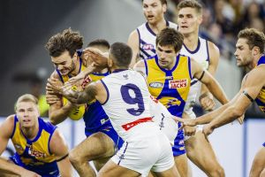 West Coast reminded Fremantle who is the king in the west but the young Dockers showed the Eagles' crown is a bit shaky ...