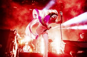 Maggie Rogers performs at the Coachella Music & Arts Festival at the Empire Polo Club on Saturday, April 20, 2019, ...