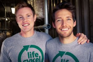 Riding the shroom boom: Ryan Creed and Julian Mitchell of Life Cykel.