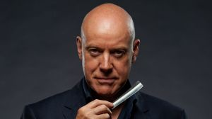 Anthony Warlow has proved himself brutal with a cauliflower in preparation for his role as Sweeney Todd.
