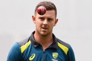 Josh Hazlewood was twice overlooked by selectors for the World Cup squad.