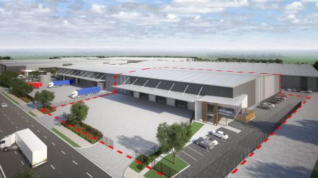 German building materials company Knauf has leased a warehouse at6B/11 Distribution Drive, Erskine Park, Sydney