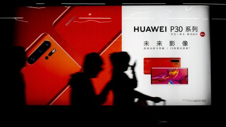 Telstra says it only sells Huawei's flagship P30 phone.
