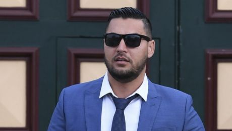 Salim Mehajer leaves Cooma Correctional Centre on Tuesday.