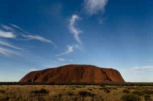 Photograph of Uluru in the Northern Territory . Photographed Sunday 26th May 2019. Photograph by James Brickwood. SMH ...
