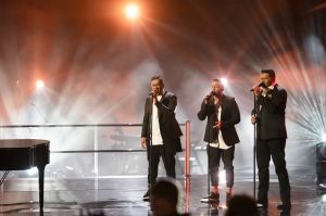 The Koi Boys sing for their supper on The Voice.