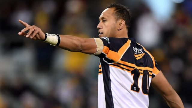 End of the line: Christian Lealiifano's time at the Brumbies has ended one game short of the grand final.