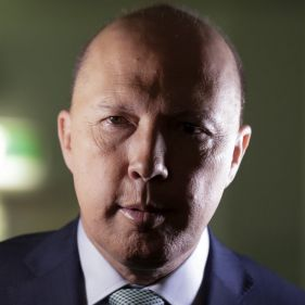 Home Affairs Minister Peter Dutton has the power to redact content in the Ombudsman's reports on the encryption law.