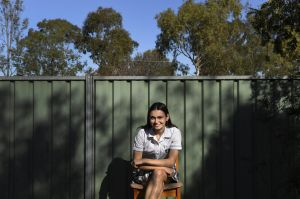 Independent HSC student Zoe Provest aged 17 years old at her home in Dubbo. Zoe's family live in Walgett so rents in ...