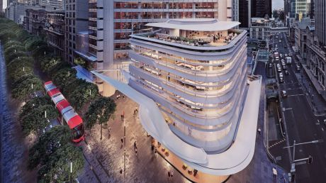 QBE Insurance will join First State Super at the new-look388 George Street office tower in Sydney.