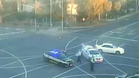 Police were called to the Ringwood Bypass about 4.20pm on Monday after a teenage boy was hit and killed by a car.