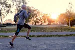The study says over-60s should exercise more.