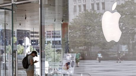 Apple says the retail employee is no longer with the company.