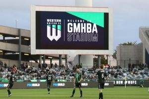 Western United have a temporary home at GMHBA Stadium in Geelong while they wait for work to start on their proposed ...