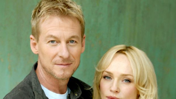 Uncertain future ... Susie Porter stars with Richard Roxburgh in East of Everything.