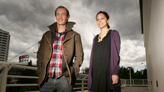 Joris Luijke and Sarah Nguyen from Human Resources at Atlassian.