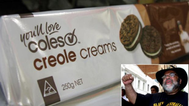 The name of Coles' Creole Creams has come under fire from UQ academic Sam Watson (inset).