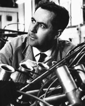 Champion ... Jack Brabham  in 1966 with his own car