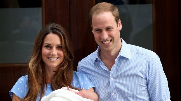 Don't click here: Kate, William and Price George Alexander Louis.