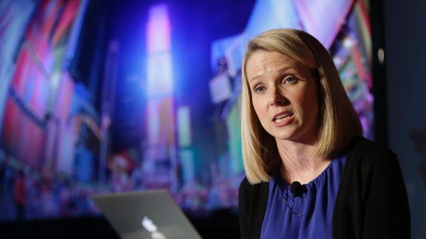 Former Google executive and current Yahoo! CEO Marissa Mayer.