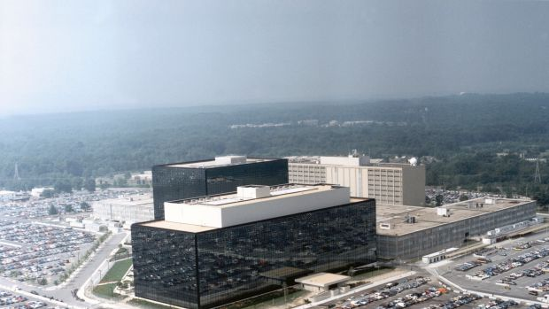 The NSA campus in Fort Meade, Maryland, US.