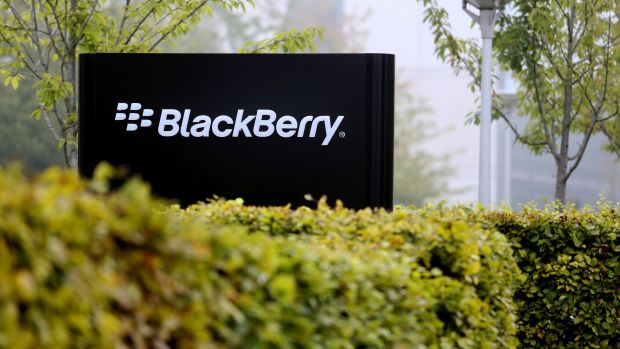 BlackBerry's British headquarters in Slough, England.
