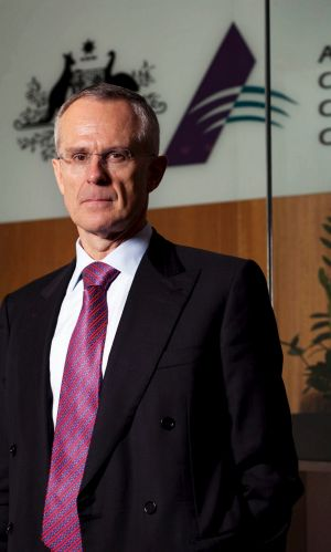 Rod Sims, chairman of the ACCC.