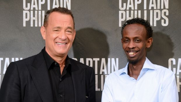 Tom Hanks and Barkhad Abdi who star in <i>Captain Phillips</i>. Hanks is among a number of celebrities whose personal ...