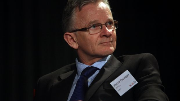Patrick Flannigan, a former head of construction at NBN Co who resigned and is now a non-executive director.