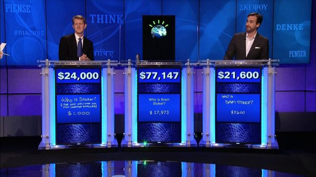 Watson on the US TV show Jeopardy!
