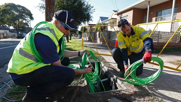 About 120,800 households or businesses are using their NBN connections.