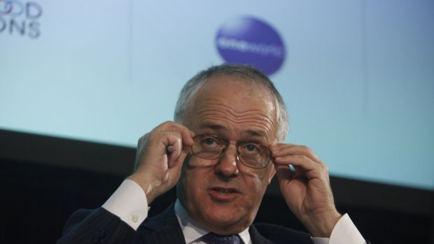 Communications Minister Malcolm Turnbull.
