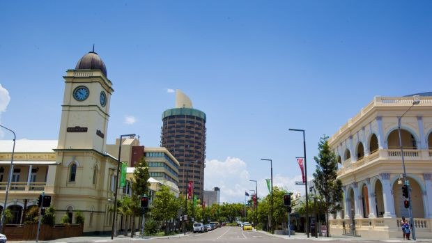Townsville, Queensland, one of the regional towns to benefit indirectly from start-up funding.